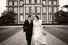 chicheley hall wedding photo