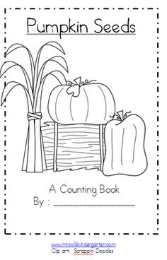 Mrs. Wills Kindergarten: Fall Goodies...Monsters and a Pumpkin FREEBIE