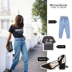 9 Versatile Ways To Style Distressed Denim (The Edit) New Street Style, Street Style Looks, Street Style Women, Big Fashion, Fashion Over 40, Fashion Outfits, Outfit Primavera, All Jeans, Jeans Shoes