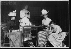 Young Ladies Take Tea - 1895