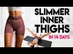 Štíhlejší vnitřní stehna za 14 dní (ztratit stehenní tuk)! 10 minut domácí cvičení - YouTube Reduce Thigh Fat, Lose Thigh Fat, Inner Thight Workout, Fat Burning Workout, Losing Thigh Fat Workout, Slim Thighs, Thigh Exercises, Youtube, Fett