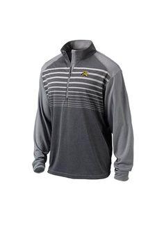 Wichita State Shockers Ping 1/4 Zip Pullover - Mens Grey Impact Long Sleeve Pullover http://www.rallyhouse.com/shop/wichita-state-shockers-ping-99700005?utm_source=pinterest&utm_medium=social&utm_campaign=Pinterest-WSUShockers $79.99