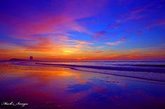 Mark's Images.The World Through My Eyes  -  Friday morning sunrise from Sunset Beach in North Carolina