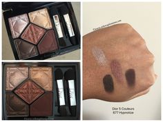 Dior 5 Couleurs in 677 Hypnotize swatches, Metallics Fall 2017