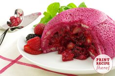 Summer Berry Pudding Recipe #KitchenWindow
