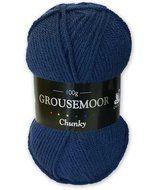 Grousemoor Chunky - Marine Beanie, Hats, Hat, Beanies, Hipster Hat, Beret