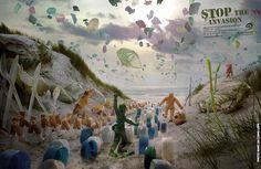 Sauvons les océans des déchets plastiques ! Des mesures pour réduire la pollution des océans !