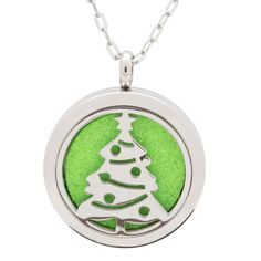 CliPons Aromatherapy Essential Oil Cloud Diffuser Locket Necklace Engraved Sweet 16 Necklaces