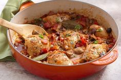 Chicken Cacciatore – Syn Free on Slimming World