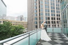 Southern Savvy Events | Kate & Billy | Newlyweds | Just Married | Charlotte Skyline | Uptown Wedding | Foundation For The Carolinas Wedding | Bride | Groom | Wedding Gown | Wedding Day