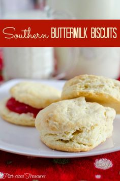 Need a Southern recipe to surprise your family with the yummiest biscuits ever? This is it---and a few baking tips as well!