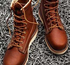 The #RedWingHeritageIronRanger is intended for work environments such as works required in and outside the household rather than heavy construction or industrial use.  http://best-workboots.com/red-wing-shoes/review-of-the-red-wing-iron-ranger-work-boot/