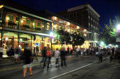 Gallery Night... Downtown... Pensacola, Florida...