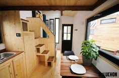La tiny house Escapade - Site de tinyhouse-baluchon !