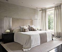 Kelly Hoppen inspired sleeping room via WestWing