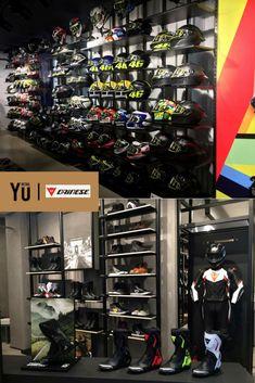 Garage Design, House Design, Motocross Store, Helmet Shop, Retail Me, Showroom Interior Design, Gear Shop, Bike Store, Visual Merchandising
