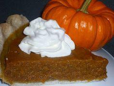 YummyAllergenFree: Gluten Free Vegan Pumpkin Pie