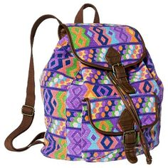 Mossimo Supply Co. Geometric Print Backpack Handbag ON CLEARANCE - WAS $29.99 NOW $20.98 | Earn Cashback when you shop at Target.com! Sign up with DubLi for FREE at www.downrightdealz.net and GET PAID for all your online shopping!