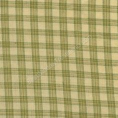 Lincoln Plain in Green for custom window treatments, tier curtains, side panels, top treatment   BestWindowTreatments.com