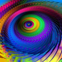 Into the Maelstrom by Fractal Artist, via Flickr