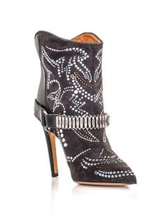 Shop Women's Isabel Marant Ankle boots on Lyst. Track over 2529 Isabel Marant Ankle boots for stock and sale updates. Isabel Marant, Cute Shoes, Me Too Shoes, Fancy Shoes, Bootie Boots, Ankle Boots, Slip On Boots, Shoes Heels, High Heels