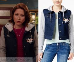 """Unbreakable Kimmy Schmidt: Season 3 Episode 4 Kimmy's Unicorn Jacket 