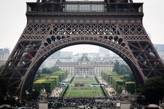 One of my favorite parts of Paris was the mass of people who gathered on the lawns in front of the Eiffel tower at night to drink lots of wine and celebrate the beauty of their city !