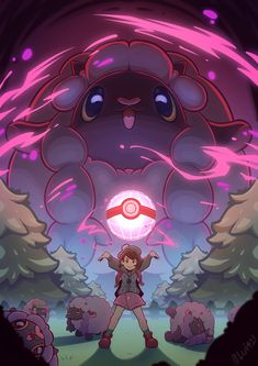 """""""Yo where my Wooloo Gang at? the new pokemon is just a sheep and i love it. i can't wait to be a shepherd in the new pokemon game! New Pokemon Game, Mega Pokemon, Play Pokemon, Pokemon Comics, Pokemon Memes, Pokemon Funny, Pokemon Fan Art, Pokemon Tattoo, Pokemon Fusion"""