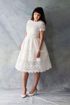 THE COTTON WEDDING DRESS | wedding dress ideas | Pinterest | Cotton ...
