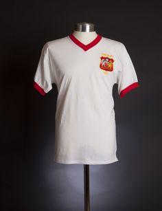 bf45e451b73 Manchester United 1957 FA Cup Final shirt. 1957  Aston Villa 2 Manchester  United 1