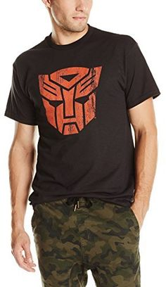 Transformers Men s Autobots Distressed Logo T-Shirt 68b7e64a22a
