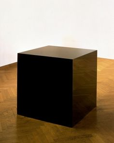 Charles Ray; Ink Box; 1986; painted steel box and ink; 36 x 36 x 36 inches
