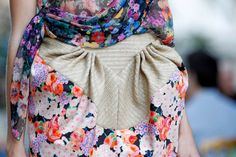 Fashion Runway - Delpozo Spring/Summer 2013 Flower Details - Cool Chic Style Fashion