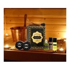 Original Weekender Kama sutra Kit #valentineday #gift #kamasutra Give the gift of love. Kama Sutra. Kama Sutra gifts have been created to bring you joy. From soothing to stimulating, refreshing to rejuvenating, our formulas beautify your body as they provoke the senses. Use our products lavishly. Share them generously. You will be rewarded in more ways than you know. ..... Original Oil of Love, Spearmint Stimulating Pleasure Balm, Sweet Honeysuckle Honey Dust & feather applicator, Sweet…