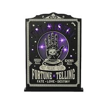 """14.5"""" LED Fortune Telling Tabletop Accent by Ashland® Halloween Phrases, Love Destiny, Halloween Christmas, Halloween Stuff, Fortune Telling, Michael Store, Colorful Party, Dark Matter, Buy Fabric"""