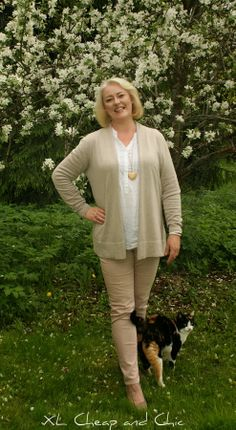 XL Cheap & Chic: Vaaleaa ja keväistä... Light and spring colors...