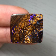 Boulder Opal 25.70ct by SignatureOpal on Etsy