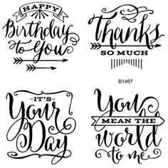 You Mean the World to Me stamp Set (B1467) Coordinates with the Thank You and Happy Birthday Card Kits. www.scraptasticmemories.com