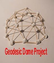 Gifted/STEM Unit This is a model from the geodesic dome unit.  Students will gain an awareness of geodesic domes around them...like Epcot Center.  This unit can be explored for several class periods.  As a result of the unit, students build a geodesic dome! More educational curriculum may be found at:  http://www.teacherspayteachers.com/Product/MathScienceELA-CCSS-Project-Geodesic-Domes-study-structures-like-Epcot-Center-1153445