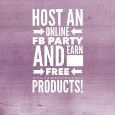 Host an online Facebook party and earn FREE products! http://denasnails.jamberrynails.net