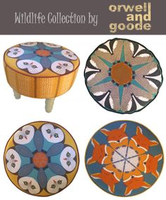 Orwell and Goode: Owl Footstool and More