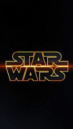 Star Wars Logo ★ Download more Star Wars iPhone Wallpapers at @prettywallpaper  Luke Skywalker!!