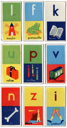 Domino des Lettres (i).