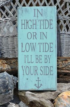 If only there was more of it.  Nautical Decor Anchor Decor Beach Wedding Wall Decor Sign Wood Signage Plaque | eBay