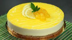 Cheesecake fredda al limone, dolce facile, fresco e senza cottura – Rice...