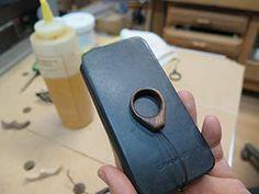 木製iPhone&カメラストラップ