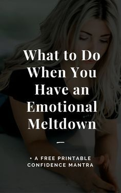 what to do if you are having a nervous breakdown