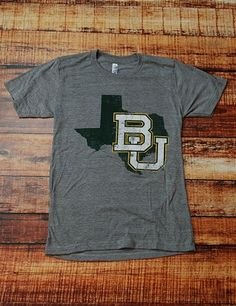 Such a classic #Baylor Tee. You know you want this awesome shirt!