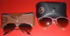 Fabiana va in giro con due paia di occhiali sa sole RayBan http://www.milady-zine.net/whats-in-my-bag-2-la-borsa-preferita-di-fabiana/