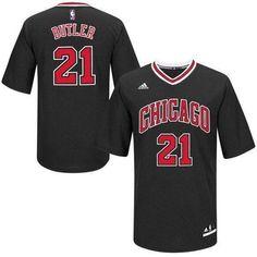 bb09bffa24c2 Youth Chicago Bulls Jimmy Butler Black Swingman Basketball Jersey